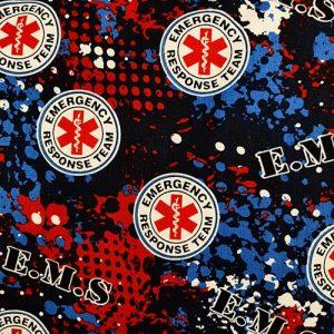 EMS EMT Blue Red Black