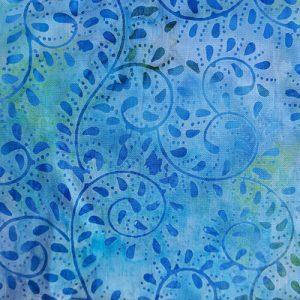 Ivy 7 Batik Blue
