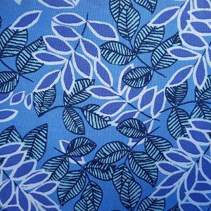 Ivy 8 Blue Large Leaf