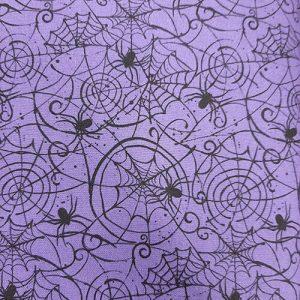 October Web Purple Black Halloween