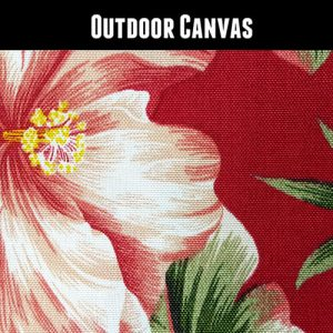 Outdoor Hawaii Red Floral