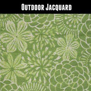 Outdoor Jacquard Green