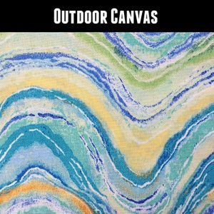 Outdoor Wave Yellow Green Blue