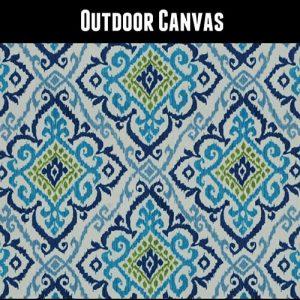 Outdoor Ankara 14 Blue Tile