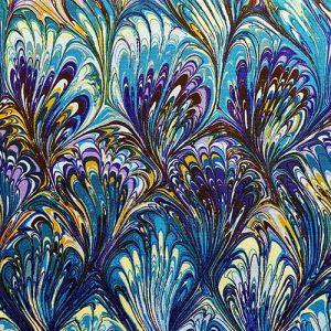 Peacock 1 Blue Purple