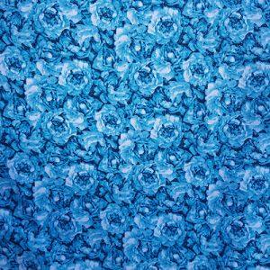 Rose Garden 4 Mini Blue On Blue