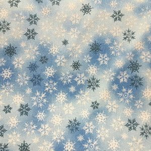 Snowflake 2 Mini White Blue