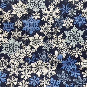 Snowflake 5 Blue