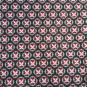 Tapestry Tile 2 Red Black