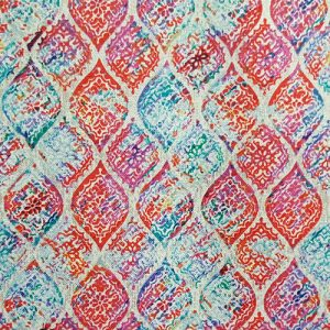 Tapestry Tile 5 Scale Pink Purple