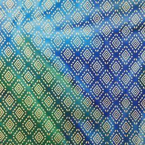 Tapestry Tile 7 Diamond Blue Green