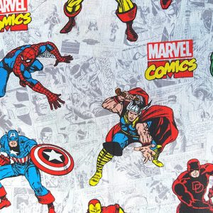 Team Marvel Red Blue Green