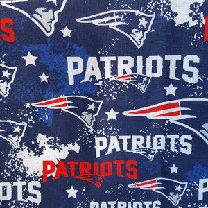 Team Patriots Graffiti Blue