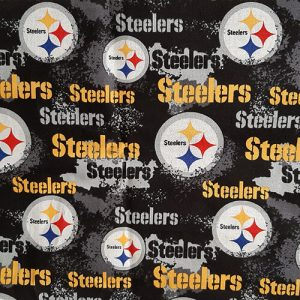Team Steelers Yellow Black
