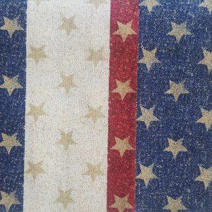 Patriot Gold Star Block Red White Blue