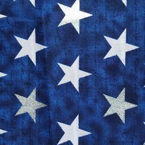 Patriot White Star On Blue
