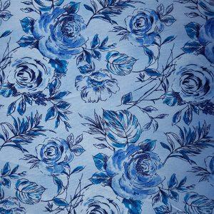 Rose Garden 2 Blue Victorian