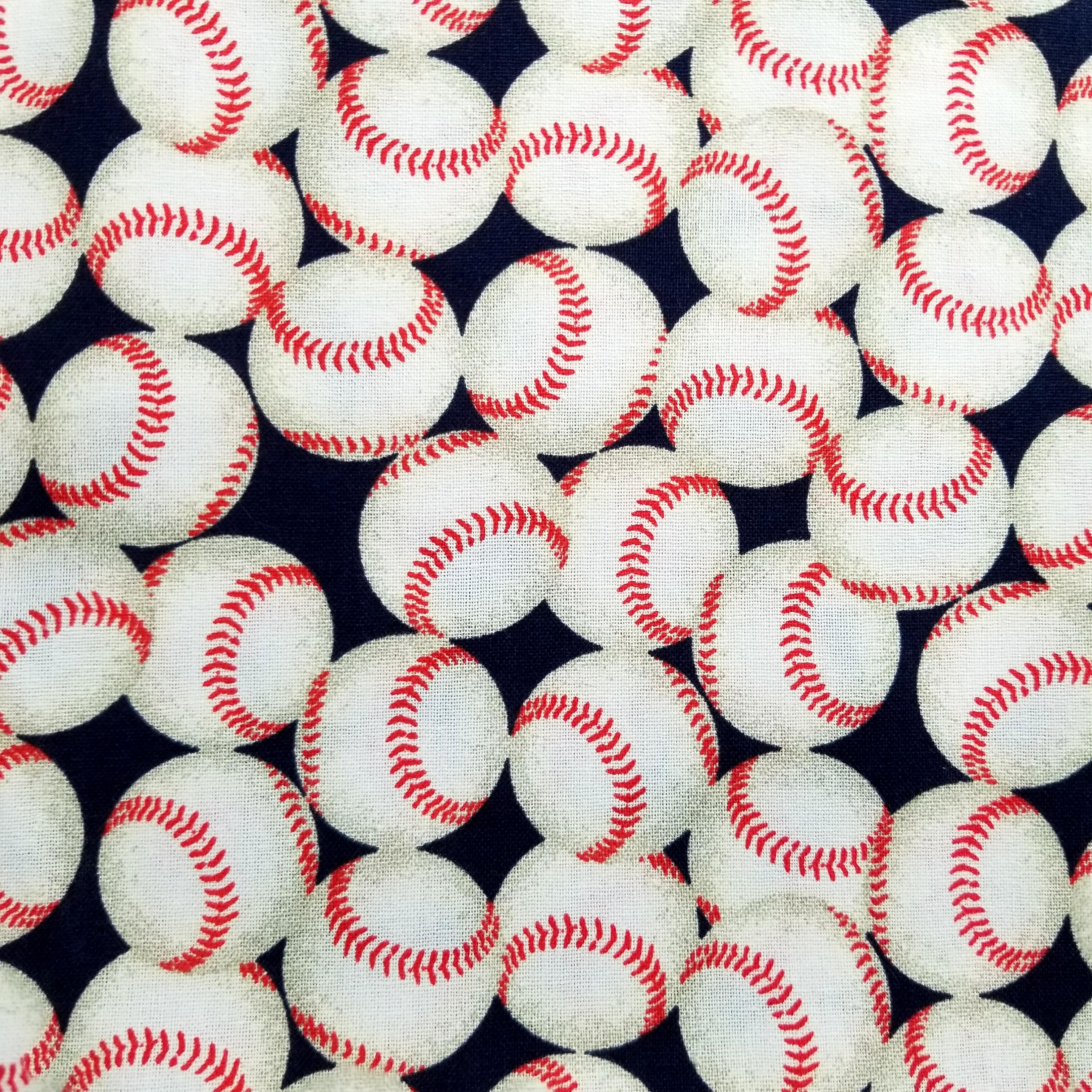 Team Baseball Red White Black