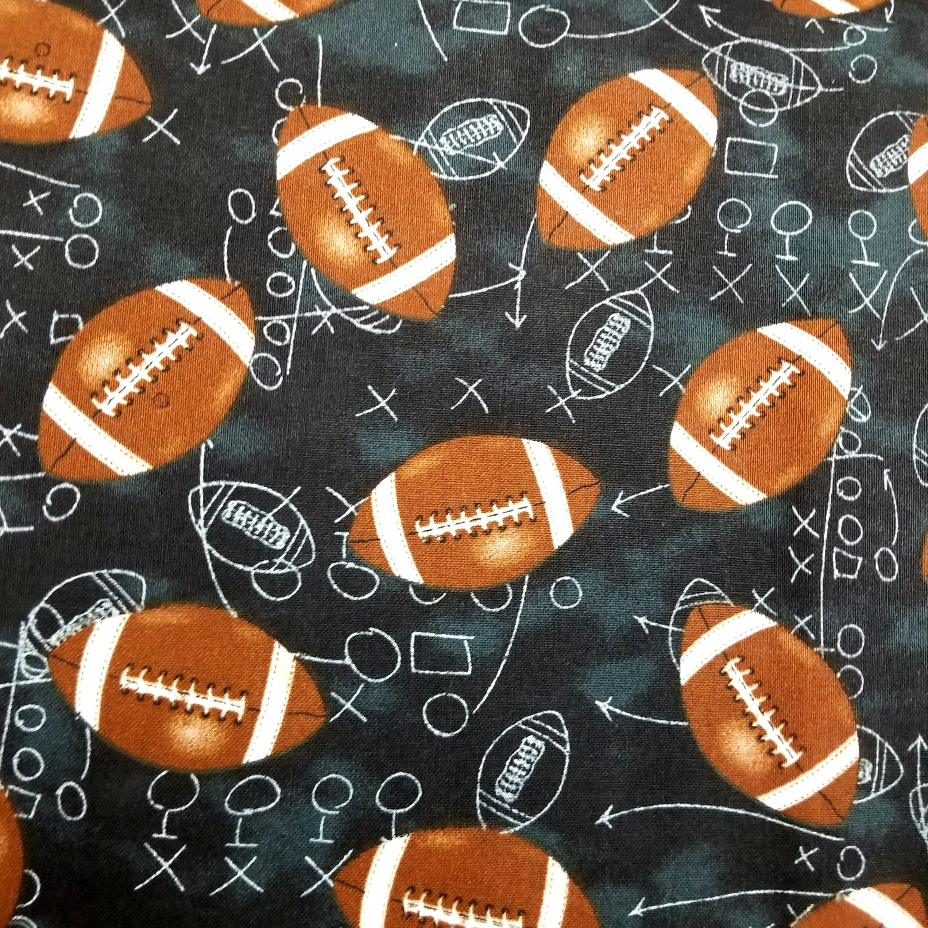 Team Football Chalkboard